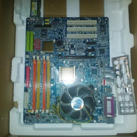 Материнская плата gigabyte ga-8i915p duo socket 775, компьютеры, оргтехника, канцтовары, комплектующие